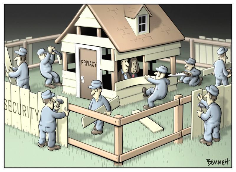 Privacy versus Security